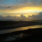 Sunrise as seen from the Laytown viaduct by Cormac Bohan.