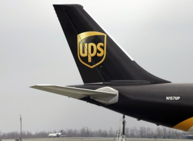 A suspect package was found a UPS plane