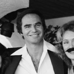When Burt Reynolds shaved off his moustache of 11 years on the Johnny Carson Tonight Show in 1978, he took the heat off himself by getting two of his lady acquaintances to mo' up.