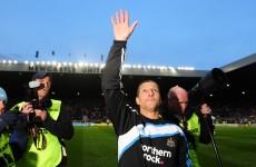 Sacked Chris Hughton bids farewell to Newcastle job