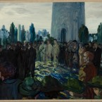 The Funeral of Harry Boland, 1922, by Jack B Yeats will go on show at The Model, home of the Niland Collection from which it is taken.