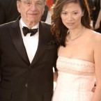 Rupert Murdoch and his wife Wendi Deng. Photo Press Association.