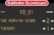 The Morning Score: Tuesday