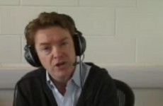 McWilliams regrets answering the door to Lenihan to discuss bank guarantee