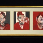 Three studies for a portrait of Lucian Freud by Dublin-born artist Francis Bacon sold for €27m at Sotheby's, London yesterday.<span class=