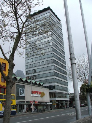 The current 17-storey Liberty Hall building was built between 1961 and 1965.