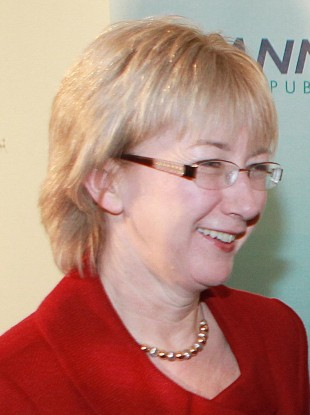 Fianna Fáil deputy leader Mary Hanafin denied her party was pulling a 'political stroke' by delaying the bank recapitalisation.
