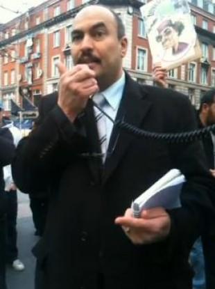 Buhidma Hussein Hamed speaking in Dublin last week. Video: Richard J Conway.