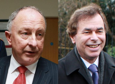 A new Bill published by justice minister Alan Shatter (right) - the first from the new government - is a word-for-word replica of one tabled by his predecessor Dermot Ahern in January.