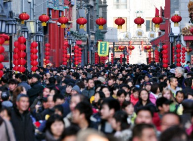 Chinese people are the most populous in the world's population