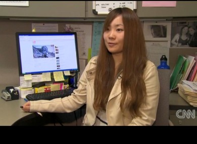 University of California student Akiko Kosaka.