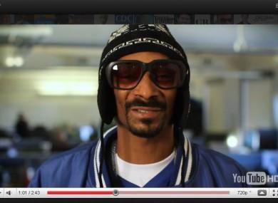 Snoop Dogg keeping it