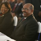 Sudanese President Omer Hassan al-Bashir, right, was one of the thousands of public figures accused in documents released by WikiLeaks of squirreling away billions of dollars into foreign bank accounts.<span class=