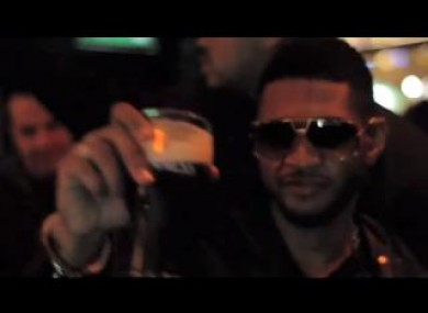 Usher drinks Guinness, because it's what we all drink in Ireland