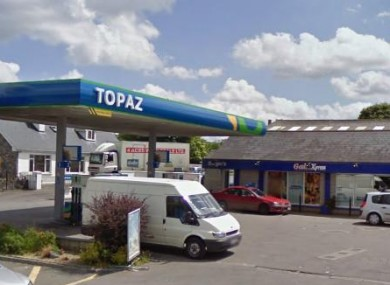 Google Maps image of the filling station in Cullahill which was raided on Monday night.
