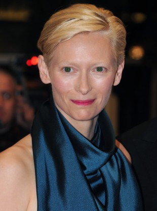 Tilda Swinton arrives at the premiere of We Need To Talk About Kevin, part of the 64th Cannes Film Festival, Palais De Festival, Cannes