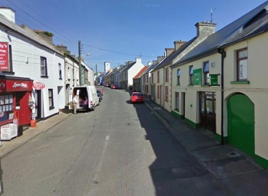 The village of Ballintra in Co. Donegal, which is mourning the loss of 23-year-old Elaine Morrow