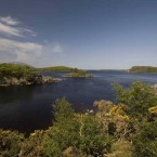 The tourist spot of Lough Conn is just a few miles from where fires raged on the hills of Co Mayo at the weekend