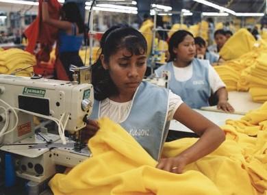 nike Asian factories people