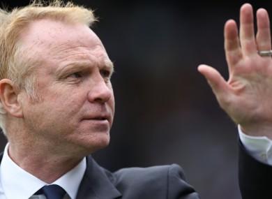 Alex McLeish: new Villa boss.