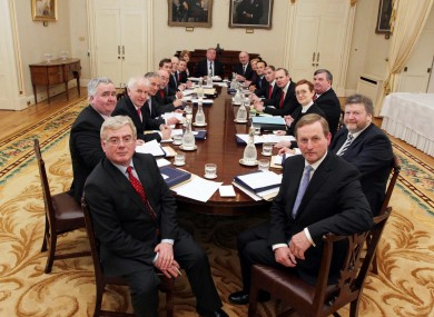The Fine Gael-Labour cabinet meets for the first time in March. Its 15 members employ 27 special advisers at an annual cost of around €2.5m.