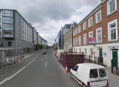 Pearse Street in Dublin (File photo)