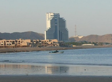 Le Meridien Al Aqah Beach Resort in UAE, where Gali worked as a salon manager and claims she was assaulted in 2008.