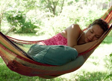 Great news for pirates: hammocks are the best way to sleep