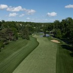 The sixth hole, which played as a long difficult par 4 in the 1964 and the 1997 U.S. Opens, has been converted to a short, risk/reward par 5 that virtually all the players in the field can reach in two shots. The key for the aggressive player will be the second shot, in which distance control must be very precise. The player who tries to avoid the water hazard on his second shot and overshoots the green will face a testing up and down. The green is bisected by a swale; expect challenging hole locations in the front right, back right and on the back left ridge.
