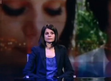 Jelena Lecic appeared on BBC Newsnight last night, explaining that it was she who was in the pictures, not Arraf