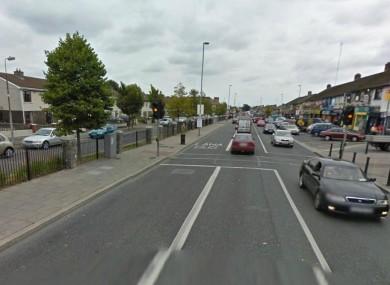 Ballyfermot Road in Dublin (File photo)