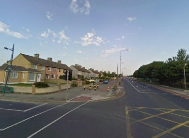 File photo of the Ballyfermot Road in Dublin