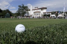 US TV station caught staging the finale of amateur golf tournament