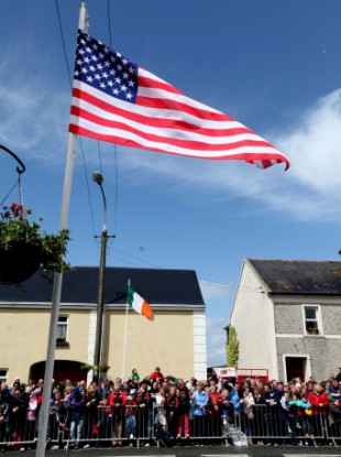 Moneygall is keeping its American connections alive with a weekend-long festival to celebrate US Independence Day