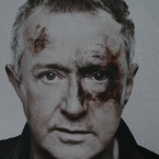 Louis Walsh also features on the posters.