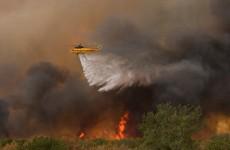 Wildfires strike Texas and Oklahoma