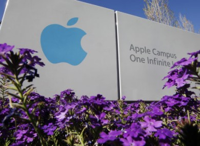 Apple HQ in California where Tim Cook is now top dog.