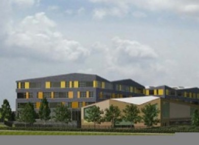 An artist's impression of part of the proposed facility