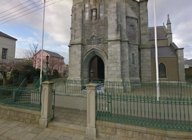 St Peter's Church in Warrenpoint, where Ms Dinsmore's funeral will take place today