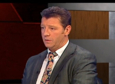 Roddy Collins on Tonight with Vincent Browne.