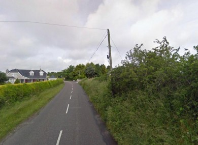 Whites Cross in Co Cork, near where the accident happened (File photo)