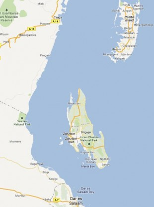 The ferry sank in an area with heavy currents in deep sea between mainland Tanzania and Pemba Island