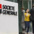 This week Moody's downgraded the credit ratings of French banks Société Générale and Crédit Agricole as investors fretted about their potential exposure to Greek debts. BNP Paribas has avoided a downgrade so far. Image: AP Photo/Jacques Brinon