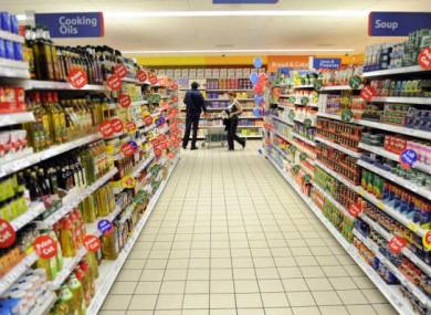 File photo of a Tesco supermarket.