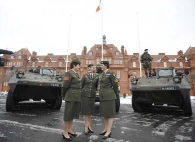 12 out of 80 new recruits to the Defence Forces in 2010 were women, its annual report revealed.