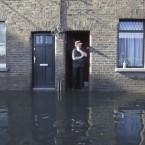 Martin Murphy surveys the damage in Kilmainham. Image: Leon Farrell/Photocall Ireland