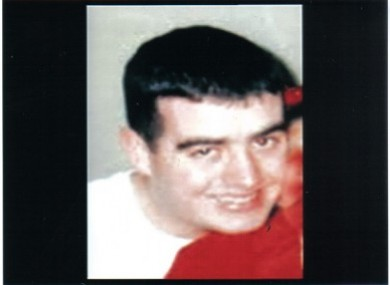 Ciarán Noonan has been missing since 20 October