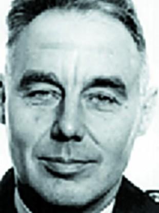 Undated PSNI photo of RUC officer William 'Bill' Elliott.