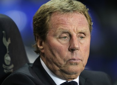 Redknapp has guided Spurs to fifth place in the Premier League.