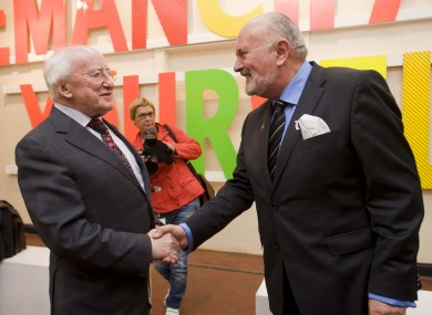 Michael D Higgins and David Norris insist there is